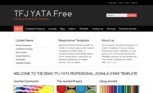 TFJ YATA FREE RWD darmowy responsywny szablon Joomla 3.x