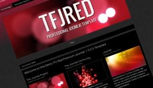 Templatka Joomla! 2.5 - TFJ RED