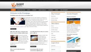 JV Nicebody Free Magazine Style - darmowy szablon Joomla