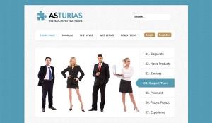 Asturias - darmowy szablon Joomla