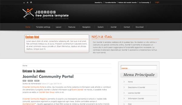 WM JooRoos Free Joomla Template
