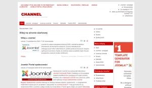 RY-Channel 2.0 - darmowa templatka Joomla