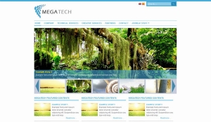 Mega Tech - darmowa templatka Joomla 1.5
