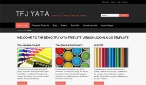 TFJ YATA Lite Version darmowa templatka Joomla 2.5