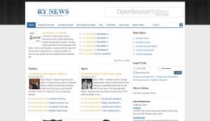 Ry News - darmowa templatka Joomla 1.5