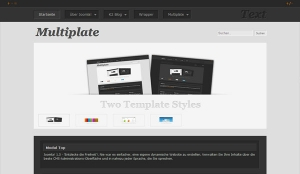 Multiplate - darmowa templatka dla Joomla