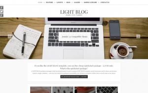 LIGHTBLOG FREE RWD darmowy responsywny szablon Joomla 3
