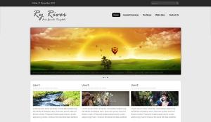RY River Free Portfolio - darmowa templatka Joomla