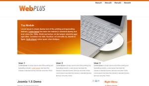 WebPlus - lekki darmowy szablon Joomla
